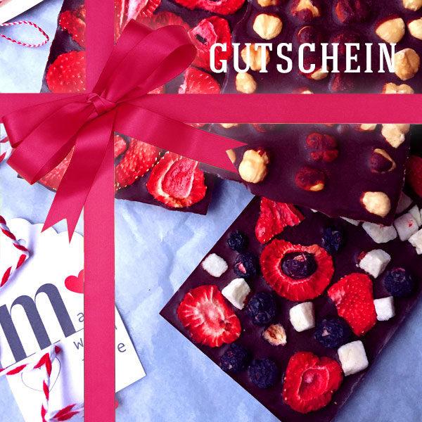 Schokoladenkunst Gutschein