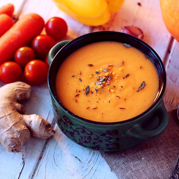 karotten-suppe